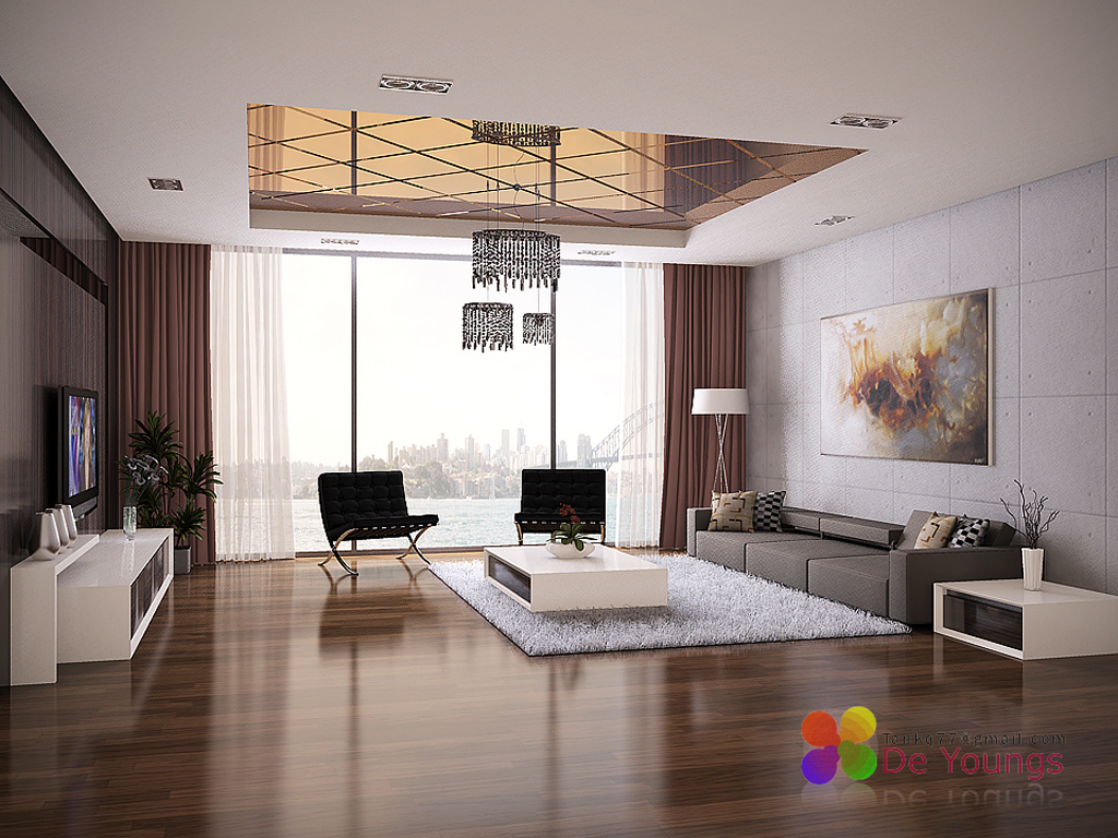 Blog Conceptual Modern Living Room Inspiration